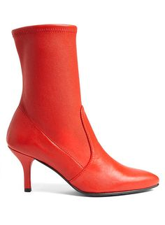 LOVIKA   Red ankle boots #booties #shoes #trending