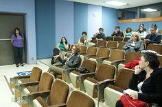 Sesión de preguntas, Mtra. Hilda Bustamante, Auditorio de la DGTIC, Seminario: Visiones sobre la Mediación Tecnológica en Educación, 23 de septiembre de 2013.