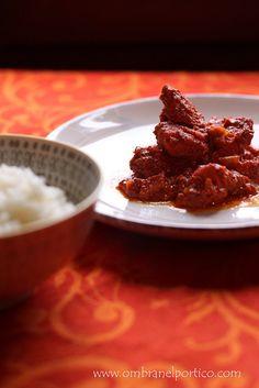 Pollo Tandoori e curcuma fresca