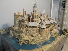 Large castle model by thestonecuttersguild