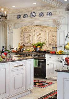 Lorriane - traditional - kitchen - new york - by Canterbury Design Kitchen Interiors