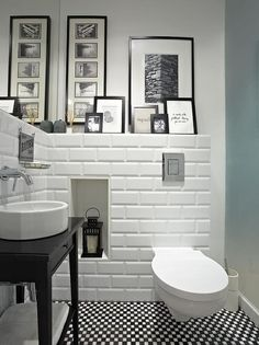 Bathrooms can be so difficult to design. They were invented…