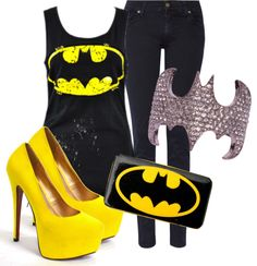 i'd do black heels though. black jeffreys would go nice with this.
