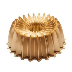 See more detail about Nordic Ware® Premier Gold Brilliant Bundt Pan in Gold..