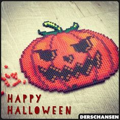 Happy Halloween hama beads by  derschansen
