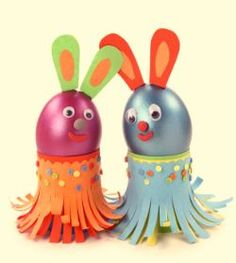 Easter craft kits, childrens crafts, kids crafts, egg decorating, http://www.glassjargifts.co.uk/gifts/easter/easter-basket-decorated-eggs