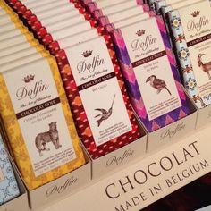 包装がおしゃれなベルギーチョコDolfin