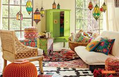 SPRING NOMAD CATALOG 2014 (World Market)  I love this style!! I think @Caitlin Smith would too :)