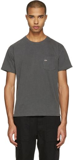 b7d326d988 Noah NYC - Grey Pocket Logo T-Shirt