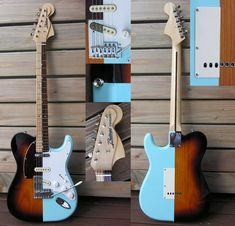 Guitar Blog: Amazing Tele-Strat hybrid 50/50 guitar from Rafael Villanova Bazaga