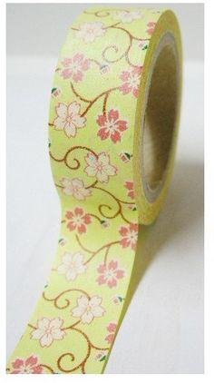 Japanese+Washi+Tape+Decorative+Masking+Tape+by+JolinTsai+on+Etsy,+$3.30