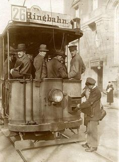Berlin tram 1920 by janwillemsen Old Pictures, Old Photos, Vintage Photos, Old Photography, History Of Photography, Dresden, Berlin Photos, Tramway, Bagdad