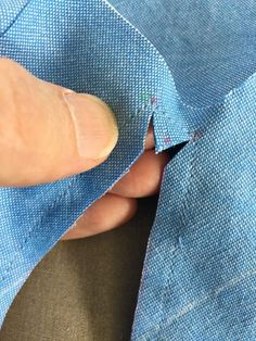 Sewing Techniques Couture How to Sew Professional Sleeve Plackets - Threads Digital Ambassador Peter Lappin writes about how to create a professional sleeve placket. Sewing Hacks, Sewing Tutorials, Sewing Tips, Sewing Ideas, Sewing Crafts, Techniques Couture, Sewing Techniques, Leftover Fabric, Love Sewing