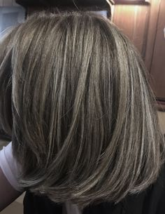 Silver Highlights Haircydgoes Pinteres Haircuts In 2019