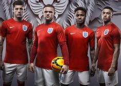 "Nike Football commisioned us to create the England Three Lions crest but through the filter of ""Risk Everything"". The logo was used as the backdrop for the launch of the new England kit in preparation for the 2014 World Cup in Brasil. England World Cup Kit, New England Kit, Football Kits, Nike Football, Nike Soccer, Football Updates, Soccer Fifa, World Cup Shirts, Soccer"
