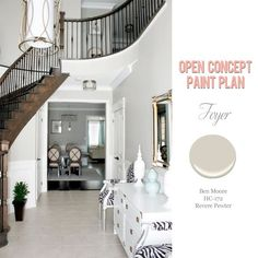 Foolproof Paint Selections For An Open Concept Floor Plan Dina Holland Interiors