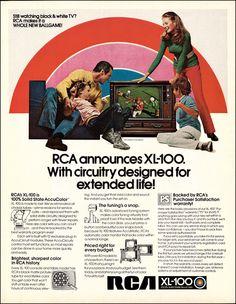 Televisores Vintage rca