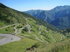 Luz Ardiden in the Pyrenees