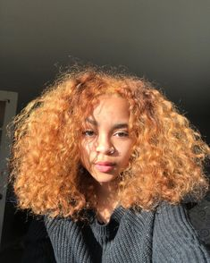 187 Best Curly Hair Dye Images In 2019 Curly Hair Styles