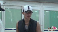 20120616 Kim Hyun Joong fancam @ Gimpo Airport  - Arrival from HANEDA/ TIME 2:45 - POSTED 16JUN2012 - 14K views