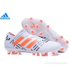 2daaae326 adidas Nemeziz Messi 17.1 FG BY2405 KID W M White Solar Orange Clear Grey  SALE FOOTBALLSHOES