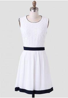 Avalon Embroidered Dress