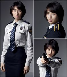 Park Ha Sun looks striking in police uniforms for drama 'Three Days'