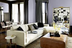 8 Admirable Cool Ideas: Small Living Room Remodel Tile living room remodel before and after exposed beams.Living Room Remodel On A Budget Link livingroom remodel columns.Living Room Remodel Before And After House Tours. Leather Ottoman, Pouf Ottoman, Leather Chairs, Leather Pouf, Leather Sofas, Small Apartment Design, Small Apartments, Pouf Cuir, White Linen Curtains