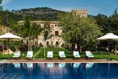 Spa - Hotel Castell Son Claret, mallorca. Expensive