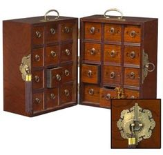 Double Apothecary Chest