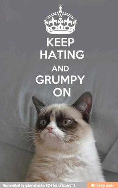Stay grumpy :)