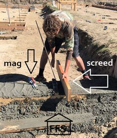 How to pour your own foundation footings. DIY and save money