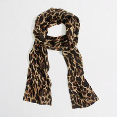Factory leopard scarf - Scarves, Gloves & Hats - FactoryWomen's Bags & Accessories - J.Crew Factory