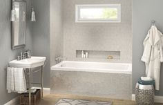 POSE Alcove or Drop-in bathtub - MAAX