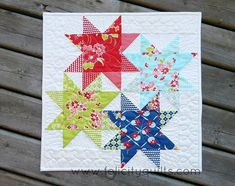 Miss Kate in the Stars: a Mini | Felicity Quilts | Bloglovin'
