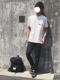 夏コーデ🔥 今年初のサンダルを履きました!✨ MHL.×URBAN RESEARCHのTシャツは可
