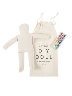 DIY Doll with Watercolor Set | Sycamore Street Press
