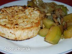 Grilovaný encián s grilovanou zeleninou -  Encián, camembert alebo hermelín potrieme z obidvoch strán olivovým olejom a posypeme korením...