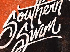 Southern Swim Type by Jeremy Teff
