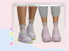 """cerenozatak: """" ✰ 𝓬𝓱𝓸𝓷𝓴 𝓼𝓷𝓮𝓪𝓴𝓮𝓻𝓼 𝓻𝓮𝓬𝓸𝓵𝓸𝓻 ✰ i really like this sneakers by and wanted to add pastel swatches,hope you like it! Maxis, Sims 4 Mods Clothes, Sims 4 Clothing, Los Sims 4 Mods, Sims 4 Family, The Sims 4 Packs, Sims 4 Children, Sims 4 Teen, Sims 4 Cc Shoes"""