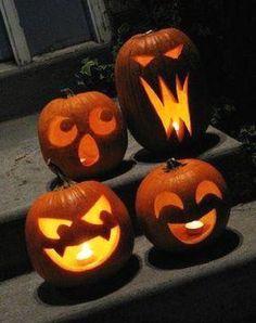 Cute Pumpkin Carving, Halloween Pumpkin Carving Stencils, Halloween Pumpkin Designs, Halloween Pumpkins, Halloween Decorations, Carving Pumpkins, Easy Pumpkin Designs, Harry Potter Pumpkin Carving, Citouille Halloween