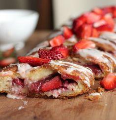 Trenza danesa de frutillas #FrutillasAlmaSinger - Cocina Central