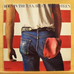 BRUCE SPRINGSTEEN - Born in the U.S.A. - mint minus - Vinyl LP - I´m on Fire RAR
