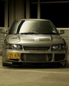 Mitsubishi Lancer Evo.