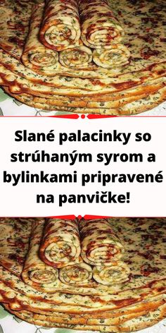Czech Recipes, Food And Drink, Appetizers, Cooking Recipes, Menu, Baking, Pizza, Breakfast, Retro