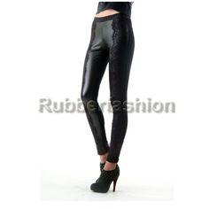 Sexy Glanz Leggings schwarz mit Seitenverzierung #Stretch #Glanz #Wetlook #Leggings #Leggins #Legings #Legins #Hose #pants #Verzierungen 16.90 EUR inkl. 19% MwSt. zzgl. Versand