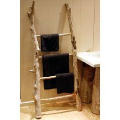 Le bois flott on pinterest driftwood lamp no closet - Fabriquer une echelle en bois ...