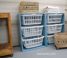 cool idea for the laundry