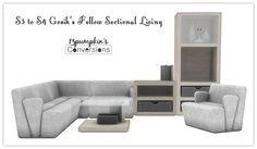 Sims 4 CC's - The Best: Livingroom by 13pumpkin31