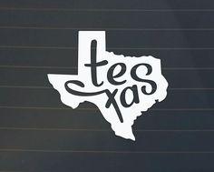 Texas Car Decal - Texas Decal - Texas Sticker